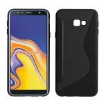 Gelový obal Galaxy J4+ 2018 - S - line - černé