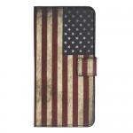 Pouzdro Galaxy A40 - Vlajka USA