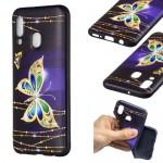 Pouzdro / Obal Galaxy A40 - Motýli 02