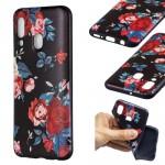 Pouzdro / Obal Galaxy A40 - Květy 02