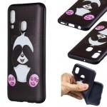 Pouzdro / Obal Galaxy A40 - Panda 01