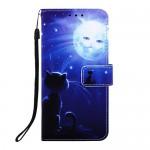 Pouzdro Galaxy A40 - Kočka 01