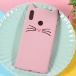 Obal Honor 8X - Kočka - růžová