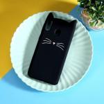 Pouzdro Galaxy M20 - Kočka - černá