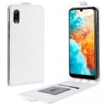 Pouzdro Flip Huawei Y6 2019 - Bílé