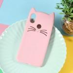 Obal Xiaomi Mi A2 - růžová kočka
