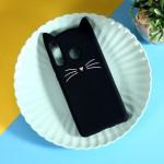 Obal Huawei P30 Lite - černá kočka