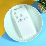 Obal Huawei P30 Lite - bílá kočka
