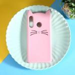 Obal Huawei P30 Lite - růžová kočka