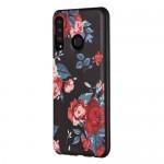 Pouzdro na Honor 8A, Huawei Y6 2019 - Květy