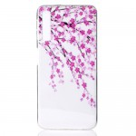Pouzdro / Obal Galaxy A50 - Průhledné - Květy
