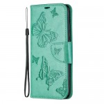 Pouzdro Xiaomi Redmi 7 - tyrkysové motýli