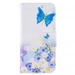 Pouzdro Galaxy M20 - Motýli 04