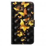 Pouzdro Galaxy A10 - Motýli 02 - 3D