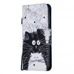 Pouzdro Galaxy A10 - Kočky 02