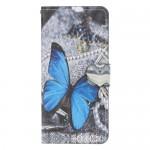 Pouzdro Galaxy A40 - Motýl 10