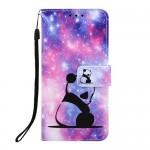Pouzdro Galaxy A40 - Panda 02
