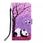Pouzdro Galaxy A40 - Panda 03