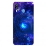 Pouzdro / Obal Galaxy A40 - Vesmír 01