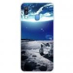 Pouzdro / Obal Galaxy A40 - Vesmír 04