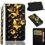 Pouzdro Galaxy A20e - Motýli 02 - 3D