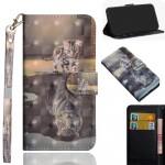 Pouzdro Galaxy A20e - Kotě a tygr - 3D