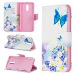 Pouzdro Nokia 3.2 - Motýli 01