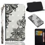 Pouzdro Nokia 3.2 - Květy 01 3D