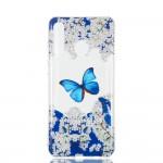 Obal Huawei P30 Lite - průhledný - Motýli 02