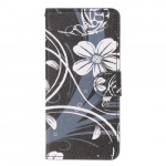Pouzdro Xiaomi Redmi Note 7 - Květy 09