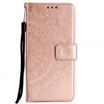 Pouzdro Galaxy A70 - Mandala - světle růžové