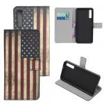 Pouzdro Galaxy A70 - Vlajka USA