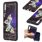 Pouzdro Galaxy A70 - Motýli 01