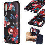 Pouzdro Galaxy A70 - Květy 01