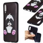 Pouzdro Galaxy A70 - Panda 01