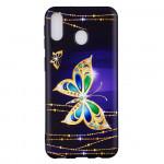Pouzdro Galaxy M20 - Motýli 01