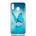 Pouzdro Galaxy M20 - Motýl 03
