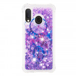 Pouzdro Galaxy A20e - Lapač snů 01 - tekuté třpytky