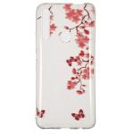 Pouzdro Huawei P Smart Z - Průhledné - Květy