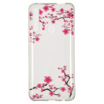 Pouzdro Huawei P Smart Z - Průhledné - Květy 02