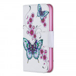 Pouzdro Nokia 4.2 - Motýli 03