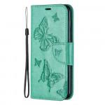 Pouzdro Nokia 4.2 - Tyrkysové motýli