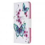 Pouzdro Xiaomi Redmi Note 8 Pro - Motýli 04