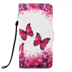 Pouzdro Galaxy A50 - Motýli 04 - 3D