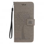 Pouzdro Nokia 4.2 - strom - šedé