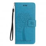 Pouzdro Nokia 4.2 - strom - modré
