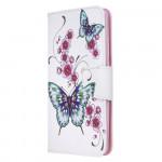 Pouzdro Xiaomi Redmi 8 - Motýli 04