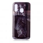 Pouzdro / Obal Galaxy A40 - Kotě a tygr
