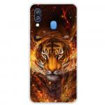Pouzdro / Obal Galaxy A40 - Tygr