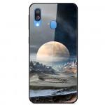 Pouzdro Galaxy A20e - Vesmír 01